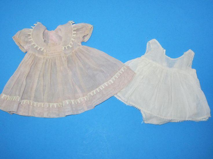 "Vintage 1930's Madame Alexander Jane Withers Dress & Onsie For 19"" 20"" Doll  #MadameAlexander #ClothingAccessories"