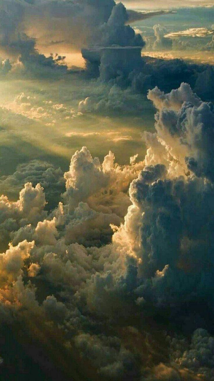 Massive Wolken – #Clouds #himmel #Massive