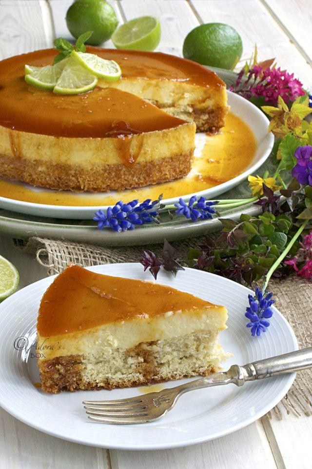 Adora's Box: LECHE FLAN CHEESE CAKE