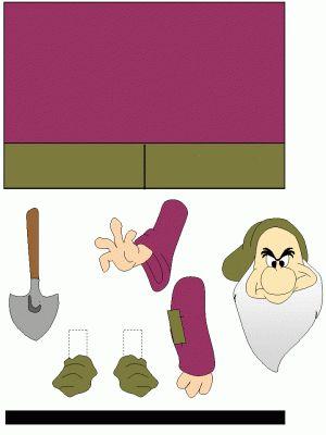 wc rol Grumpy (7 dwergen)