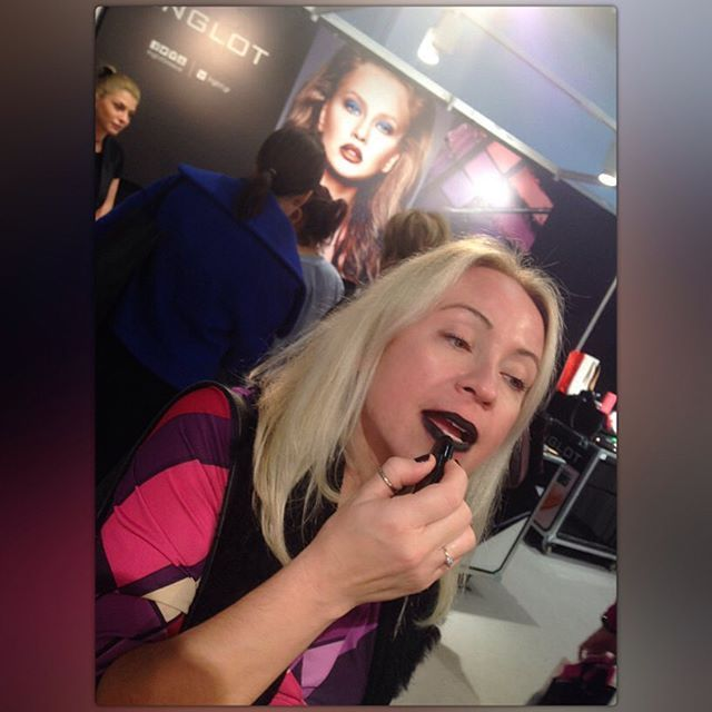 I found the #perfect #black #lipstick No 437 @inglotgreece !✔️ Love it! — Vicky's Style