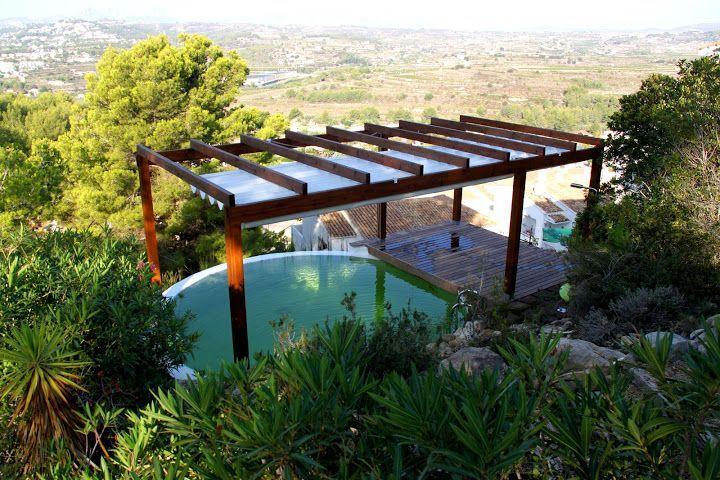 41 melhores imagens de arquitetura no pinterest for Como hacer una piscina natural en casa
