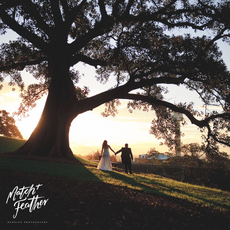 Amazing sunset || After the ceremony || Couple bridal shoot || Dominic Loneragan for MATCH + FEATHER wedding photography