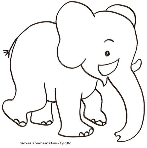 Elephant Coloriage 9 Ideal Elephant Coloriage Photograph Dessin