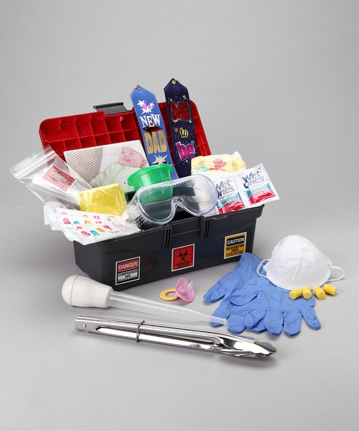 Daddy Diaper Changing Toolbox - NATE NEEDS THIS!! HAHA