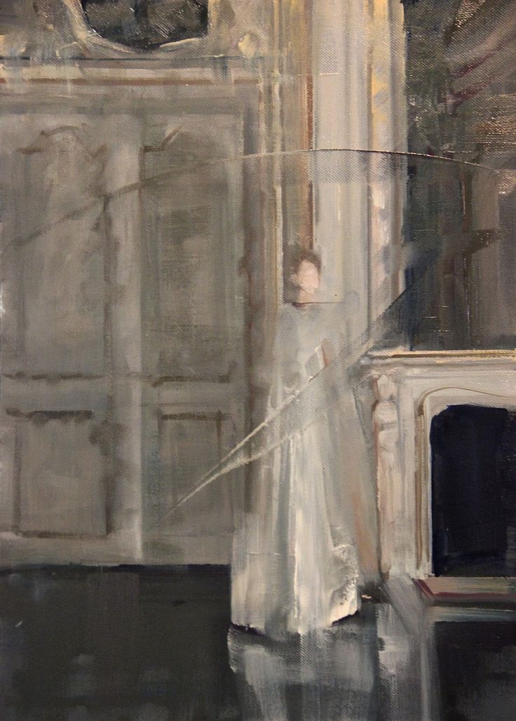 """Saatchi Art Artist: Fanny Nushka Moreaux; Oil 2014 Painting """"Haute Couture II, after a photograph by Gian Paolo Barbieri"""""""