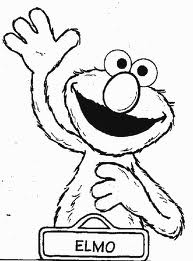 82 best muppet / sesame street images on pinterest | sesame ... - Sesame Street Coloring Pages Elmo