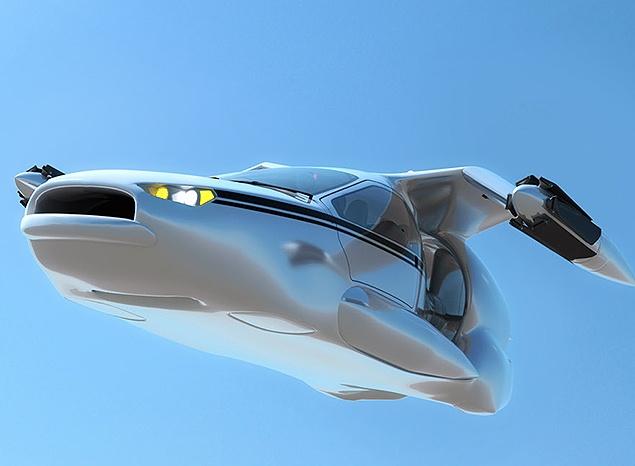 Carro voador inteligente deve chegar ao mercado na próxima década