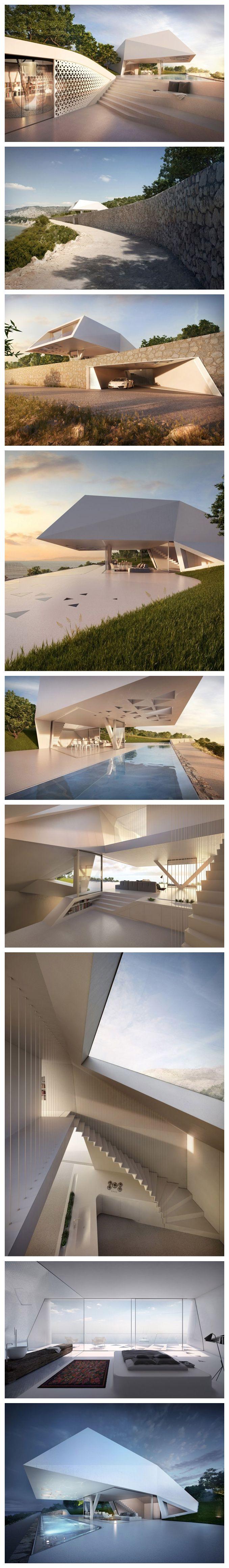 Villa F by architects Hornung  Jacobi
