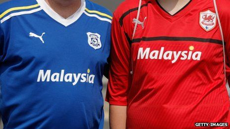 BBC News - Cardiff City FC: red shirt protest is called off