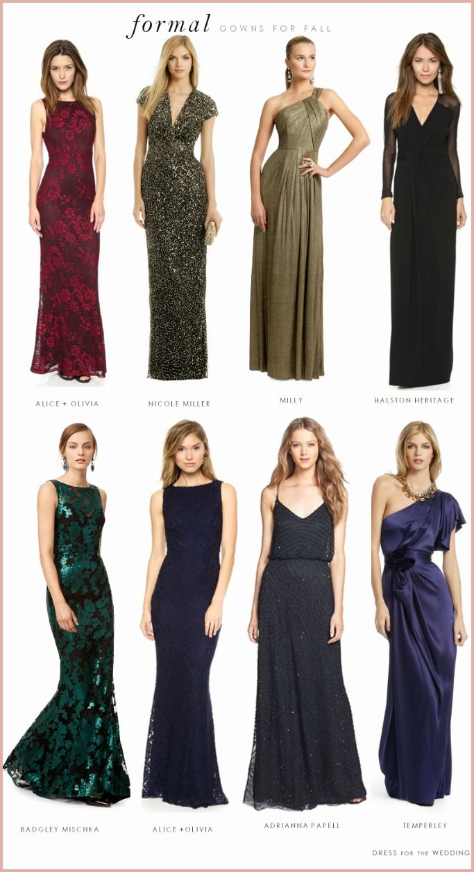15 Phenomenal Dresses To Wear To A Formal Wedding Black Tie Event Dresses Black Tie Dress Wedding Wedding Attire Guest