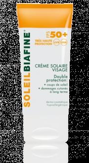 Crème solaire visage FPS 50+ - BIAFINE