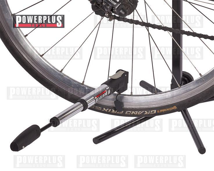 Mini Luftpumpe fürs Fahrrad Die  praktische Mini Luftpumpe ist ideal zum Einsatz für Ihr Fahrrad geeignet. Mit dem  Rahmenhalter ist Sie Kinderleicht ans Fahrrad zu befestigen und sollte Ihr zuverlässiger Begleiter bei jeder Fahrrad-Tour sein. Material: Aluminium + Kunststoff Zylinderabmessungen: 230 x Ø 30 mm. Inkl. Rahmenhalter, Preis: € 5,95 zzgl.Versand https://www.powerplustools.de/fahrradwerkzeug/minipumpe-fahrrad-mini-luftpumpe-fahrrad-miniluftpumpe-mountainbike-rennrad.html