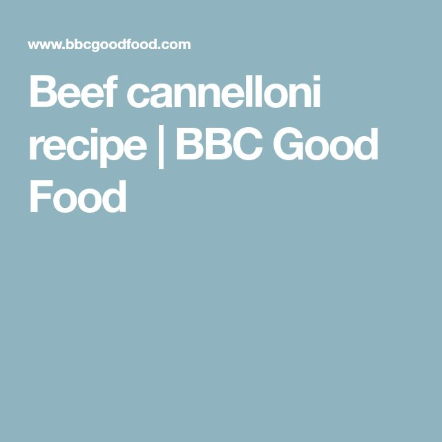 Bbc Food Lasagna Sheets Recipe