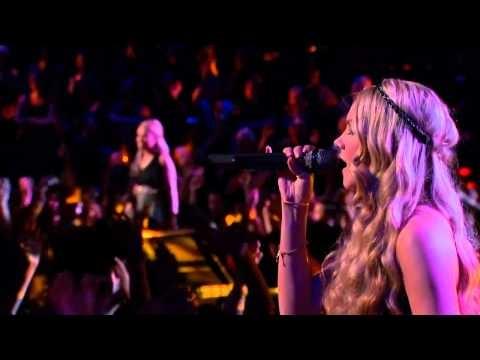 Amber Carrington and Danielle Bradbery - Brave - The Voice USA 2013 Season 4 Top 6 - HD -
