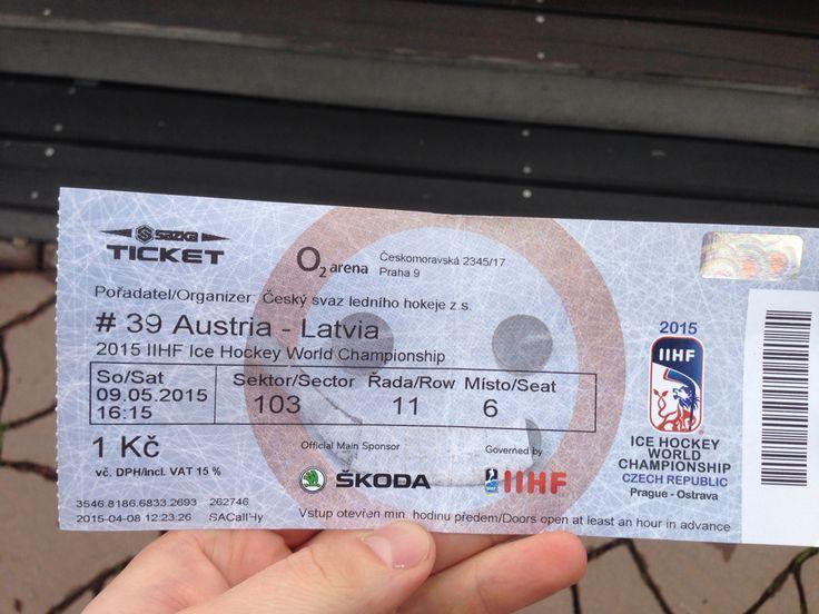 Austria-Lituania ice hockey championship 2015