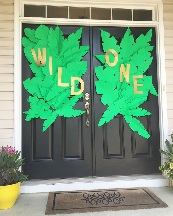 25 best ideas about wild ones on pinterest wild things for Baby boy door decoration