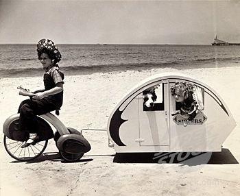 CAMPING...: Ultimate Campers, Bike Trailers, Vintage Trailers, Bike Campers, Campers Trailers, Campers Teardrop, Teardrop Trailers, Travel Trailers, Vintage Campers