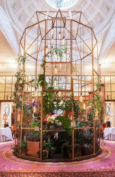 See inside one of the world's most beautiful flower exhibitions: Running until May 29, the exhibition has transformed the venue's interior and façade into an oasis of colour and scent complete with immersive gardens — all inspired by the British landscape — by five of London's leading florists. See the exhibition here.