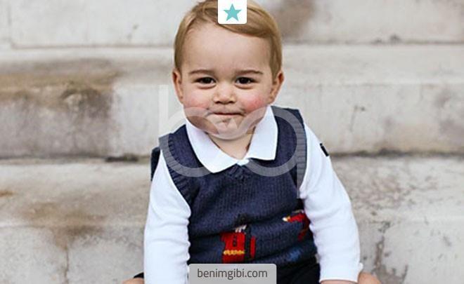 Herhalde en tatlı kraliyet üyesi Prens George'dur! Prens William ile Cambridge Düşesi Kate Middleton'ın oğulları nasıl da büyümüş!