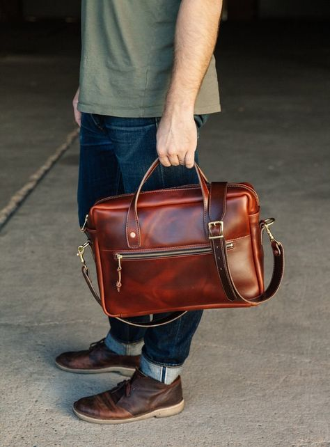 Как сделать кожаный портфель своими руками - Как это сделано, как это работает, как это устроено