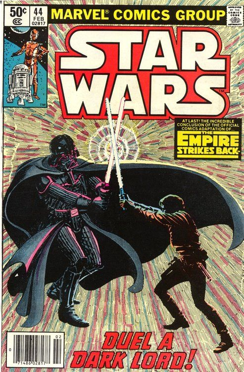 Star Wars n°44, February 1981, cover by Al Williamson and Carlos Garzon.