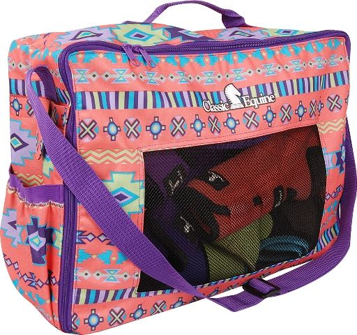 Coral Southwest Gear Bag by Classic Equine