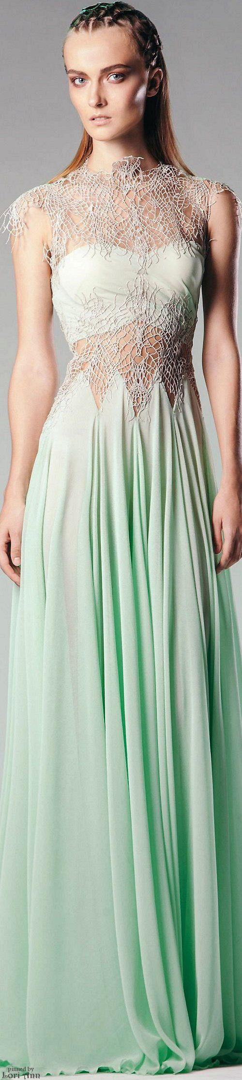 Rouba G. Spring 2016 RTW. ❣Julianne McPeters❣ no pin limits