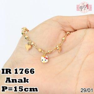 Jual Perhiasan Gelang Tangan Hello Kitty Karakter R 1766 - Pusat Perhiasan Imitasi   Tokopedia  Fast Respon  Pin BB : 5F81C0E7  No Hp : 081223335084