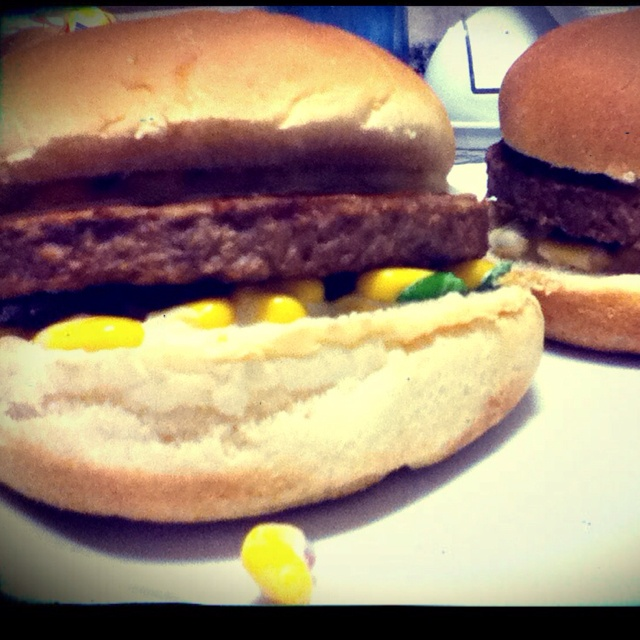 Veggie burger, made by me :)