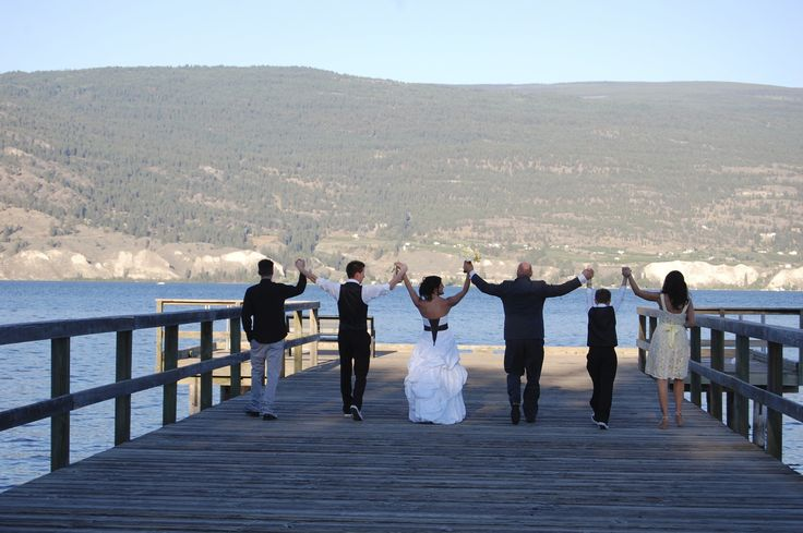 Wedding Party - Summerland pier