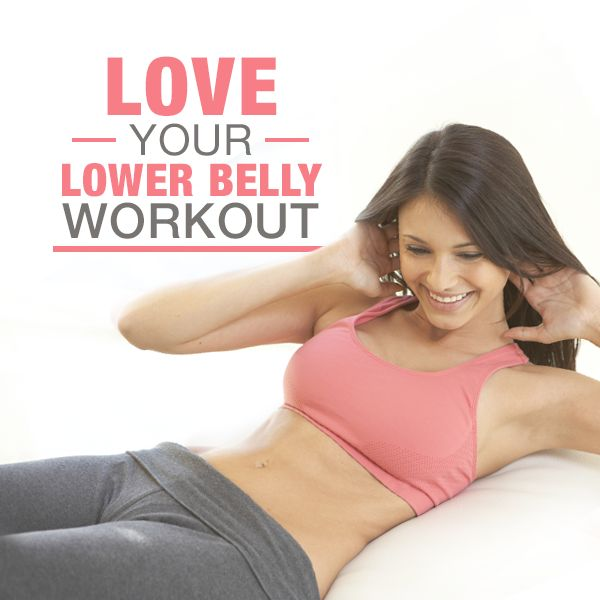 Blast lower belly fat with this Love Your Lower Belly Workout!  #lowerbellyworkout #bellyfat #flatabs