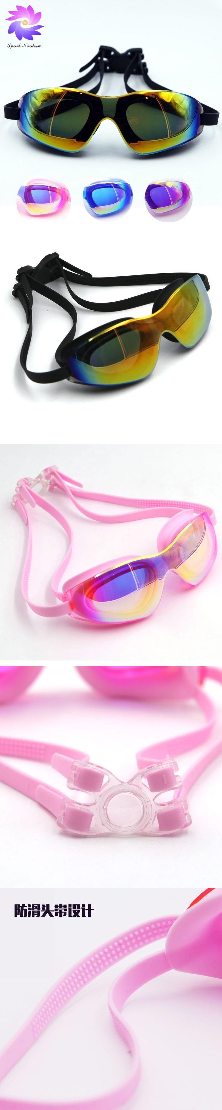 4 Color swimming Glasses Adult Adjustable Silica Gel Swim Goggles Gafas Natacion WFZ106
