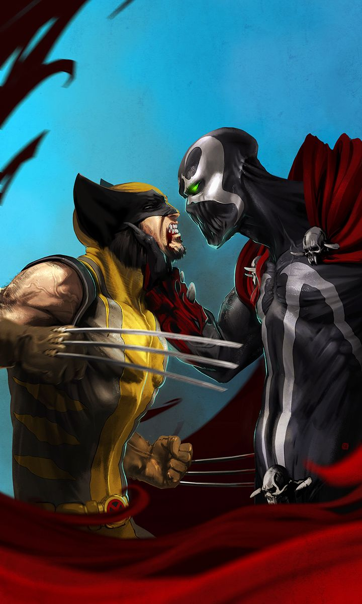 wolverine vs spawn by soft-h.deviantart.com I'm puttin my money on Wolverine! ....just sayin
