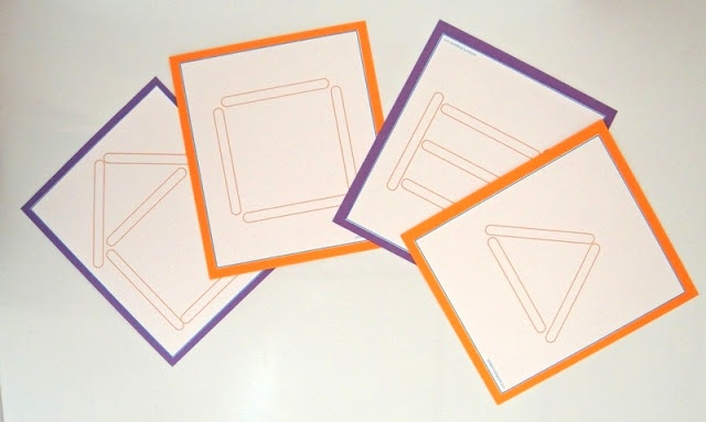 Craft Stick Pattern Cards from sol da eira