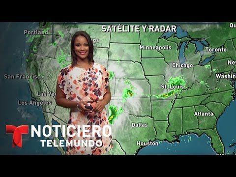 Pronóstico de Tiempo Julio 10 del 2015 | Noticiero | Noticias Telemundo - YouTube