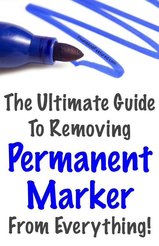 How to remove it from anything! This could come in handy.