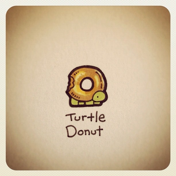 Turtle Donut #turtleadayjuly - @turtlewayne- #webstagram