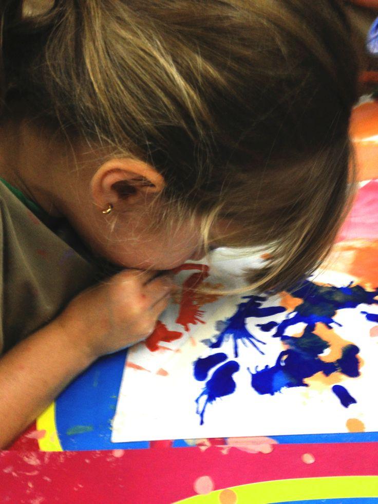 Aquí los niños tienen la posibilidad de desarrollar todo su potencial creativo.