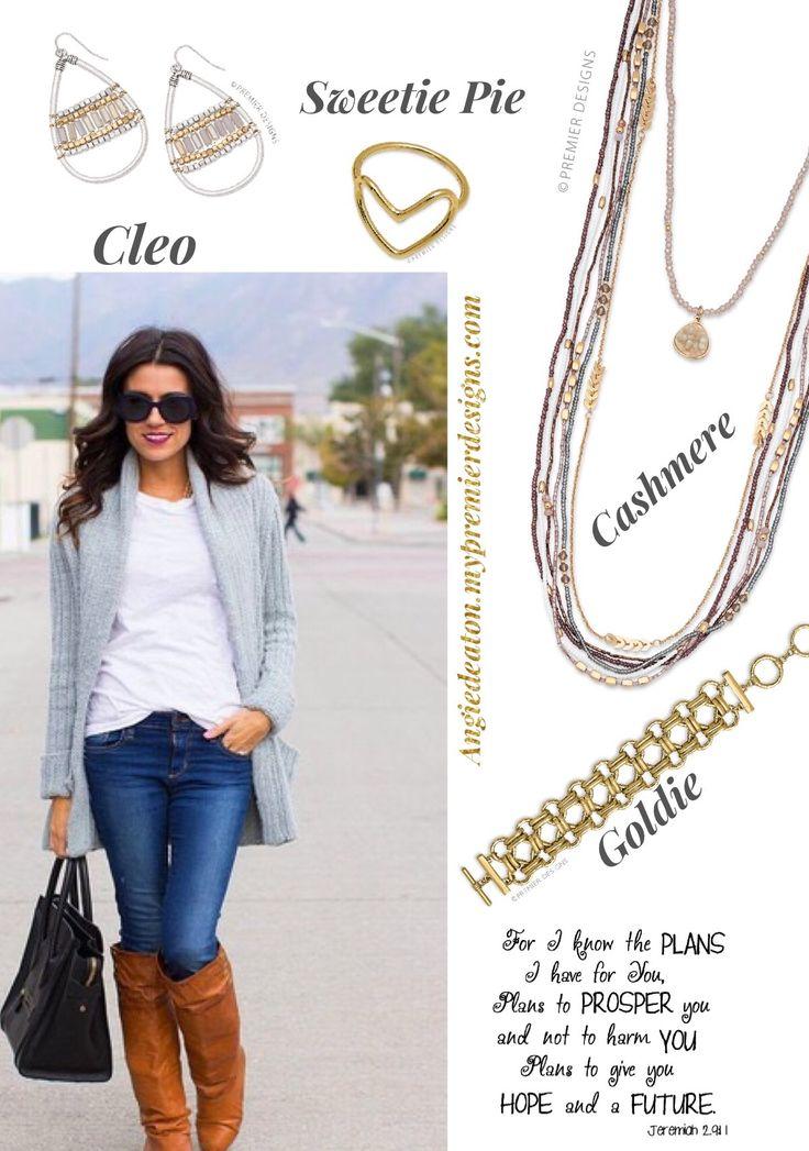 Premier Designs Spring 2017 Cashmere, Cleo Facebook.com/CiboloJewelryLady