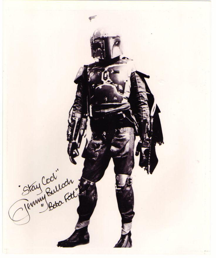 Jeremy Bulloch, Boba Fett Star Wars Hand Signed Autograph 8 x 10 Photo