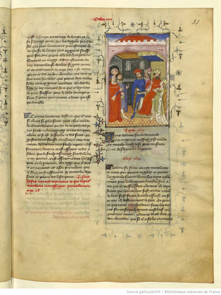L'Epistre Othea à Hector, fol 21r