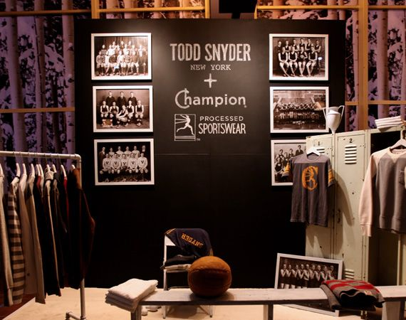 PROJECT Show New York – Todd Snyder x Champion City Gym Collection