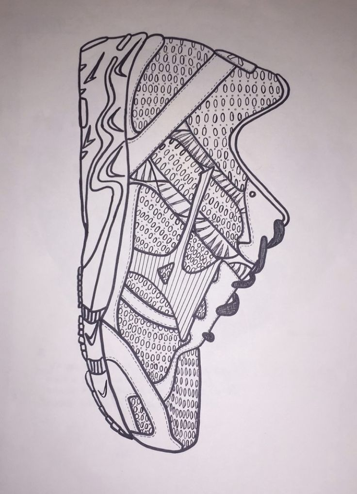 """Shoe"". Sharpie. 2015"