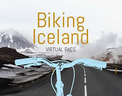 """Check out new work on my @Behance portfolio: """"Racery Biking Iceland announcement placard"""" http://be.net/gallery/40333485/Racery-Biking-Iceland-announcement-placard"""