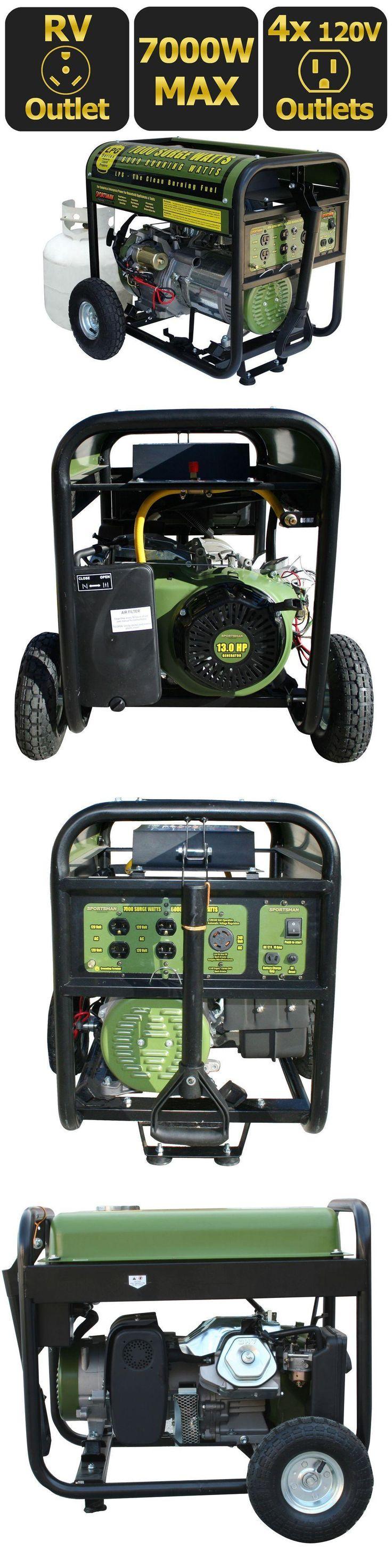 Generators 33082: New Sportsman 7,000-Watt Generator Lpg Propane Gas Powered Electric Portable Nib -> BUY IT NOW ONLY: $893.98 on eBay!