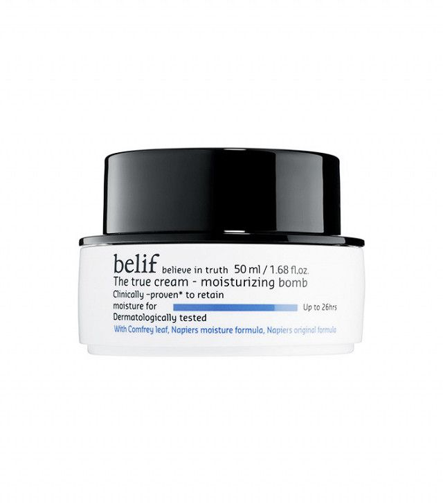 This Magical Moisturizer Is the #1 Best-Selling Korean Beauty Product at Sephora | Byrdie. Belif The True Cream Moisturizing Bomb ($38)