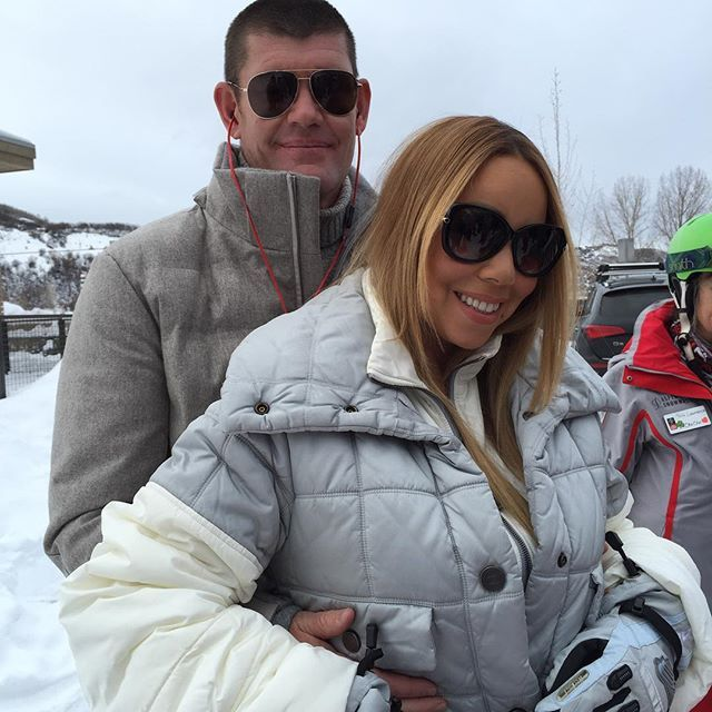 Pin for Later: 15 Photos That Prove Mariah Carey and James Packer Belong Together
