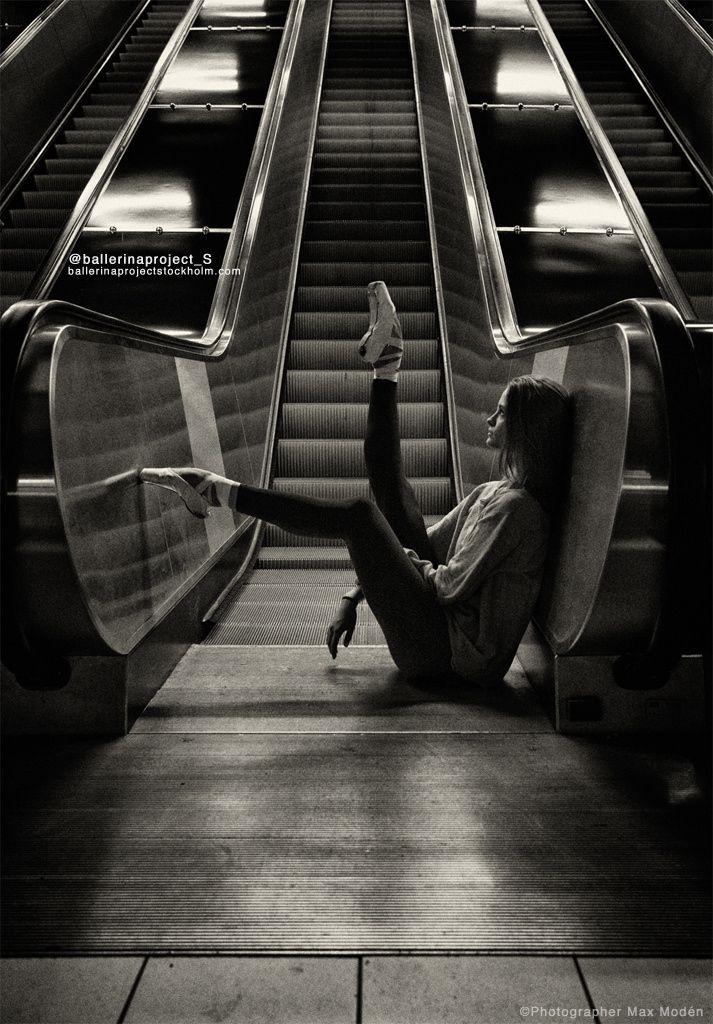 Ella Ballerina in the subway nr.9 by Max Modén - Photo 115636567 - 500px