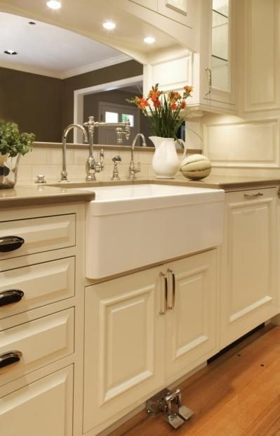 Transitional Island Style Pale Yellow kitchen, white cabinets, $50,000 - $100,000, Nordby Design Studio, Portland